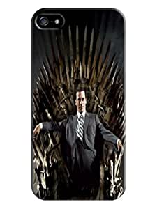 Cute 3d cartoon tpu case/cover/shell for iphone5(Thrones)by Shari Flanders
