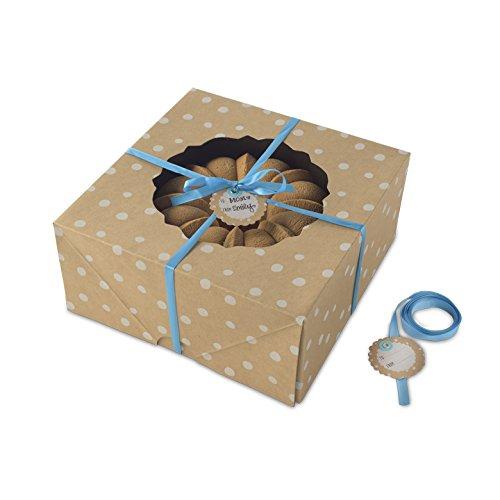Nordic Ware Bake and Gift Large Kraft Paper Bundt Box, Multicolor ()
