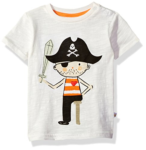 Rosie Pope Baby Boys' Pirate Graphic Tee, 18m -
