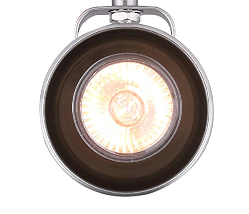 CANARM ICW622A01BN10 LTD Polo 1 Light Ceiling/Wall, Brushed Nickel with Adjustable Head by Canarm (Image #5)