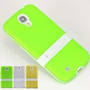 GX Teléfono Móvil Samsung - Fundas con Soporte - Diseño Especial - para Samsung S4 I9500 ( Multi-color , Plástico ) , Yellow
