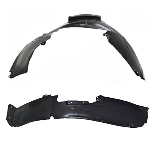 Koolzap For 06-12 3-Series Front Splash Shield Inner Fender Liner Panel Left Right SET PAIR