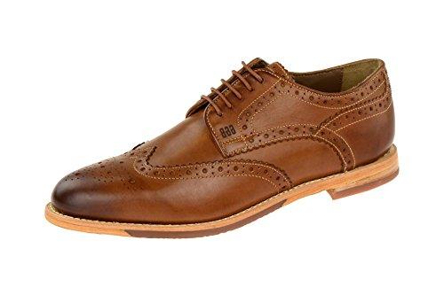 Gordon & BrosS160479 Brown-cognac - zapatos con cordones Hombre marrón claro