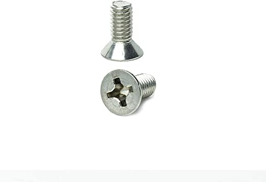 Stainless Steel 18-8 Full Thread Phillips Drive 5//16-18 x 2 Pan Head Machine Screws Quantity 10 Pieces by Fastenere Bright Finish Machine Thread