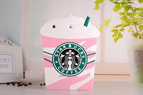 iPad Mini Case,Phenix-Color 3D Cute Soft Silicone Starbuc...