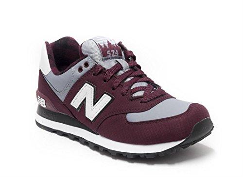 New Balance Ml574Ftc - Zapatillas de gimnasia para hombre Rojo