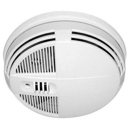 720p HD Wide Angle 15' IR Side View Smoke Detector Hidden (Side View Smoke Detector)