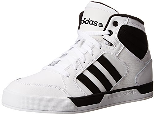 Galleon - Adidas NEO BB Raleigh Basketball Fashion Sneaker, White/Black/Black, 10.5 D US