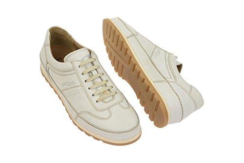 camel active452.12.04 - zapatos con cordones Hombre Blanco - Off-White