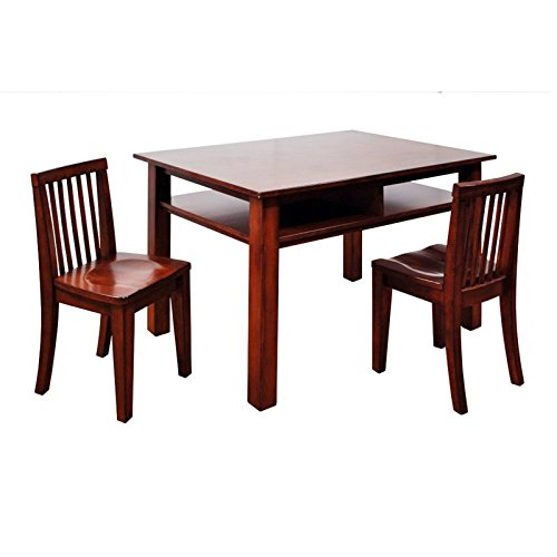 Table and Chair Set - Espresso by AFG