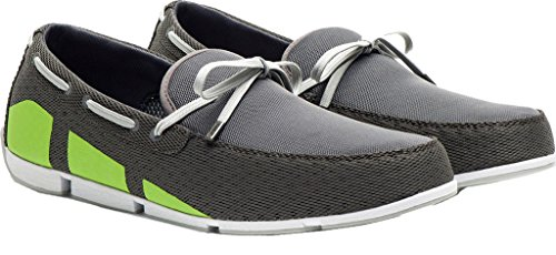 New Swims Breeze Loafer Steel/Green 12 Mens Shoes by SWIMS