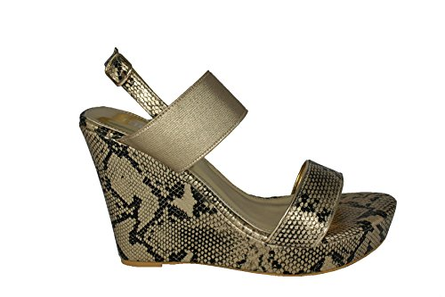 MOOW Wedge Heels Sandals Size 40 uax6GVEiH