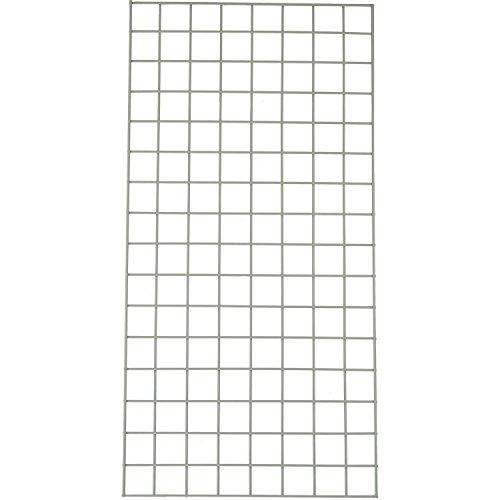 Nexel Wire Grid Panel, Grey Epoxy Finish, 18'' W x 48'' L by Nexel