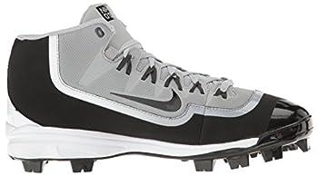 Nike Mens Huarache 2kfilth Pro Baseball Cleat Wolf Greyanthracitewhiteblack Size 8.5 M Us 6