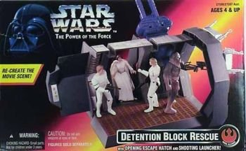 Star Wars Power of the Force II - Detention Block Rescue Red Box