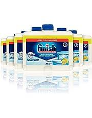 Finish Dishwasher Cleaner Liquid, Lemon Sparkle Bulk pack, 6 packs of 250ml