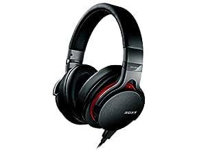 Sony MDR-1ADAC Premium Hi-Res Stereo Built-in DAC Headphones (Black/Red)