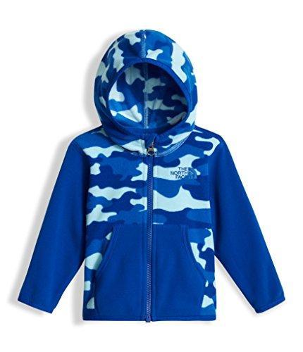 t Glacier Full Zip Hoodie - Sky Blue Classic Camo Print - 24M (Camo Zip Hood)