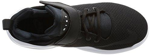 Nike Wmns Kwazi, Zapatillas de Baloncesto para Mujer Negro (Negro (black/black-white))