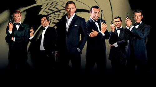 James Bond 007 Acrylic backdrop for action figures