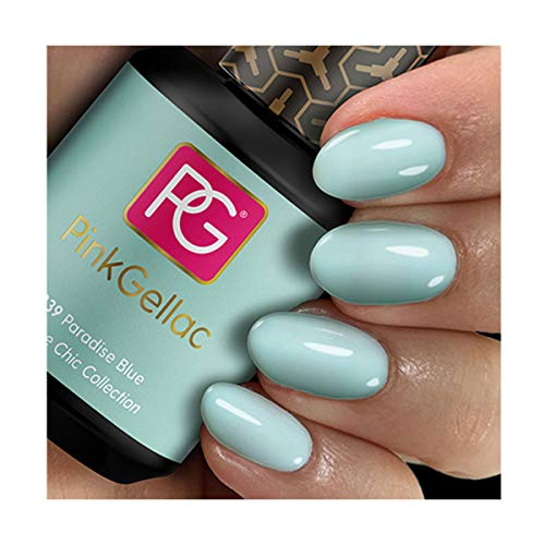 Pink Gellac 239 Paradise Blue Shellac UV / LED Gel Nagellack 15ml Nail Polish