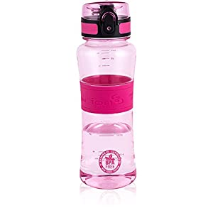 Ion8 Ultimate Leak Proof BPA Free Sports Water Bottle, 550ml (20 oz)