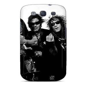 ErleneRobinson Samsung Galaxy S3 Scratch Protection Mobile Case Unique Design Stylish Helloween Band Image [sOr16701VFxE]