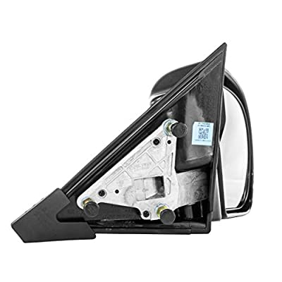 Dependable Direct Right Passenger Side Textured Mirror for 98-04 Chevy S10, GMC Sonoma - Partslink # GM1321188: Automotive