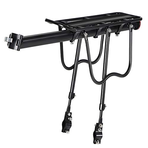 SONGMICS Bike Cargo Rack Carrier, Disc Brake