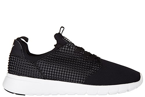 Emporio Armani EA7 chaussures baskets sneakers homme racer pack noir