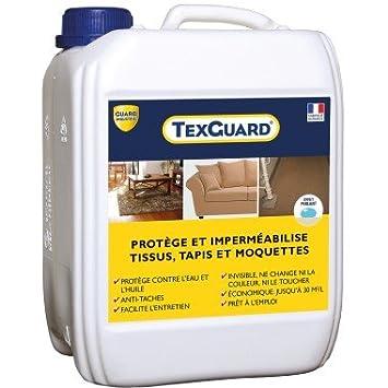 Protection anti taches tissus ou cuir - TEXGUARD 5L (+ pulvérisateur et guide du Tout Propre offert)