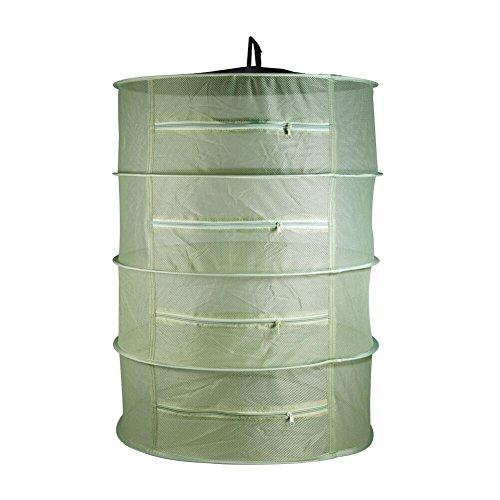 BoHoFarm Herb Drying Net w/Zippers Herb Dryer Mesh Tray Dryi