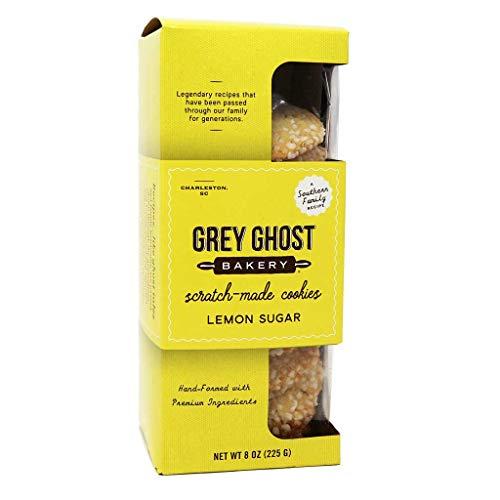 Grey Ghost Bakery Cookies, Lemon/Sugar, 8 oz. ()