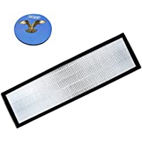 HQRP True HEPA Filter B for GermGuardian AC4825, AC4850PT, AC4900CA, AC4300BPTCA; PureGuardian AP2200CA Air Purifiers + HQRP Coaster
