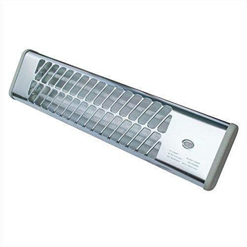 worldart @ heater, wall heater, Wall Quartz Halogen Heater 2 Bar 1200W With 2 Heat Settings Square
