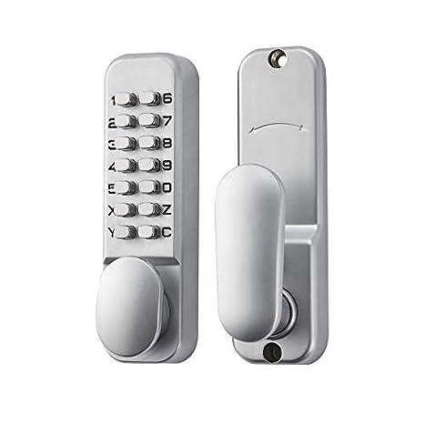 Amazon.com: SPOTACT ML101 - Cerradura de puerta sin llave ...