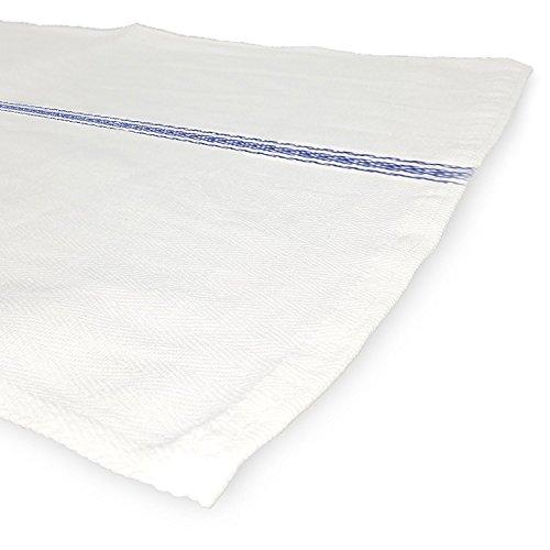 Natural Washcloths Wholesale: Royal Classic White Kitchen Towels, 15-Pack 100% Natural