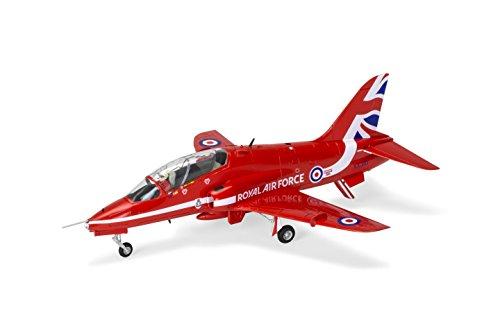 Airfix A02005C RAF Red Arrows Hawk Military Plastic Model Kit (1:72 Scale) - Red Arrow Car