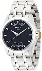 Tissot T-Trend Couturier Automatic Movement Black Dial Men's watch #T035.407.11.051.00