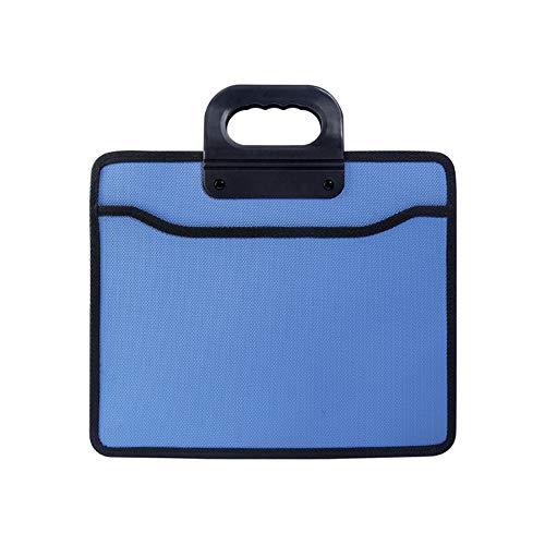Prefessional Bussiness Briefcase Zipper Bag Premium Document File Bag Laptop Lightweight Handbag for Notebook, Portfolio…