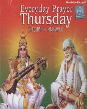 Buy Everyday Prayer Thursday Sai Baba Saraswati Online At Low