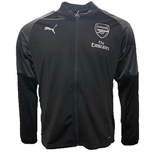 PUMA 2018-2019 Arsenal Stadium Jacket (Black) ()