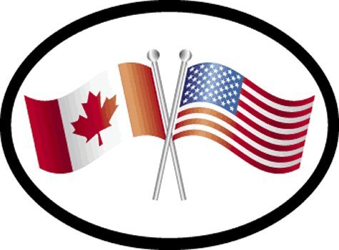canada oval decal - 3
