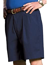 Garment Men's Pleated Business Casual Chino Short