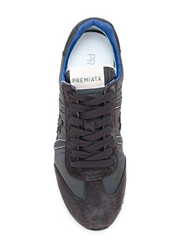 Premiata Mannen Lucy2627 Grijs Suède Sneakers