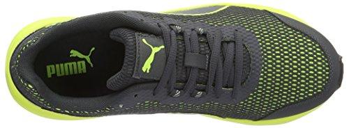 Puma Descendant V4 - Zapatillas de running Unisex adulto Gris (Asphalt-safety Yellow 08)