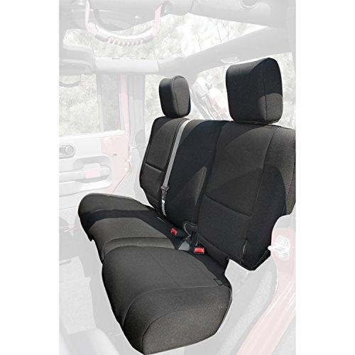 Rugged Ridge 13265.01 Black Custom Neoprene Rear Seat Cover