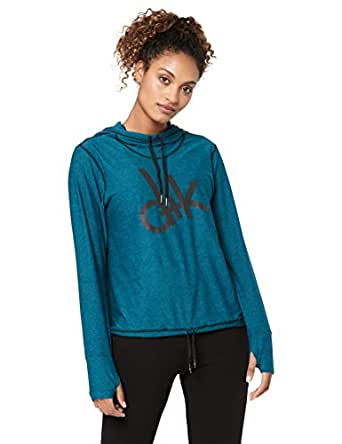 d+k Women's Air Hoodie - Turquoise, Turquoise Active, L