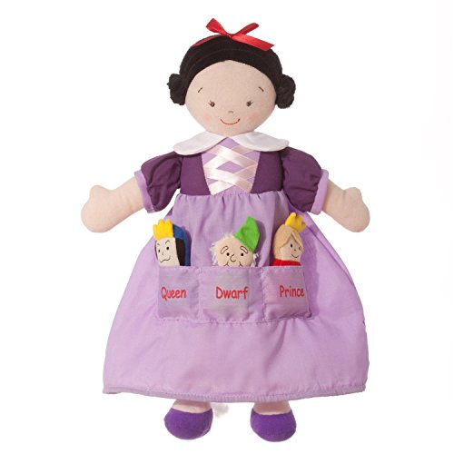 Stowaway Dolly - North American Bear Dolly Pockets Snow White