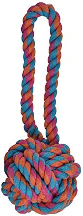 Fancypets FL7231 Bola de Hilo con Jaladera, Colores Surtidos